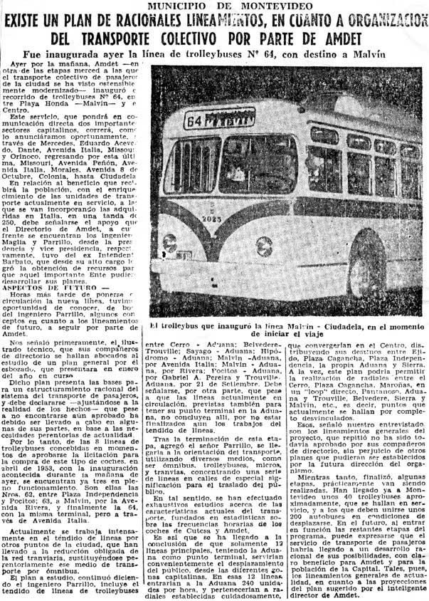 El Día, 16 de mayo de 1955